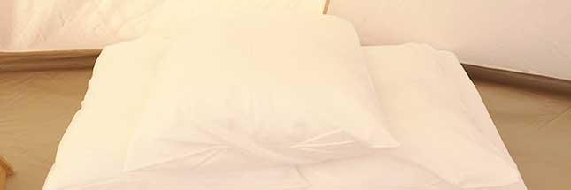 寝具について